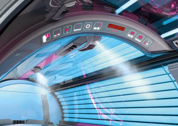 Ergoline Prestige 1400 Tunnelblick schräg